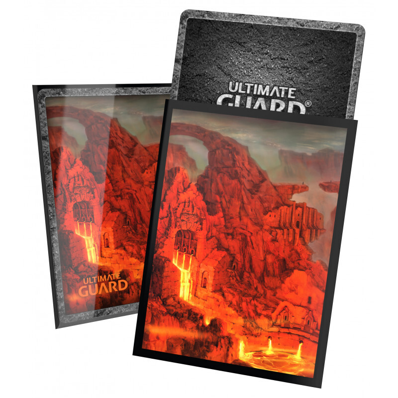 Ultimate Guard Printed 100 Sleeves Standard Size Land Ed. II - Mountain