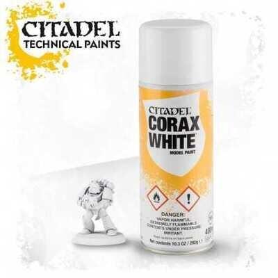 Citadel Colour: Spray - Corax White