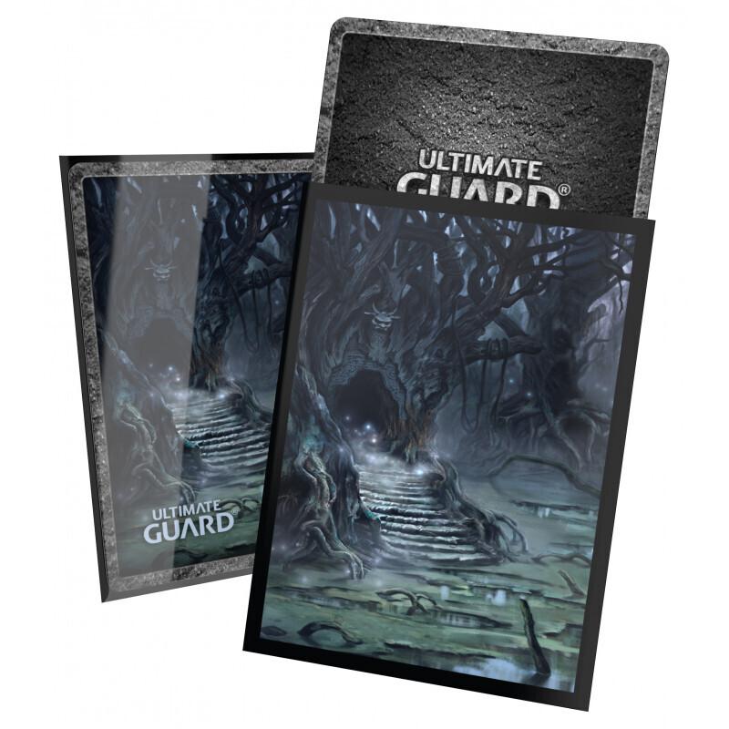 Ultimate Guard Printed 100 Sleeves Standard Size Land Ed. II - Swamp