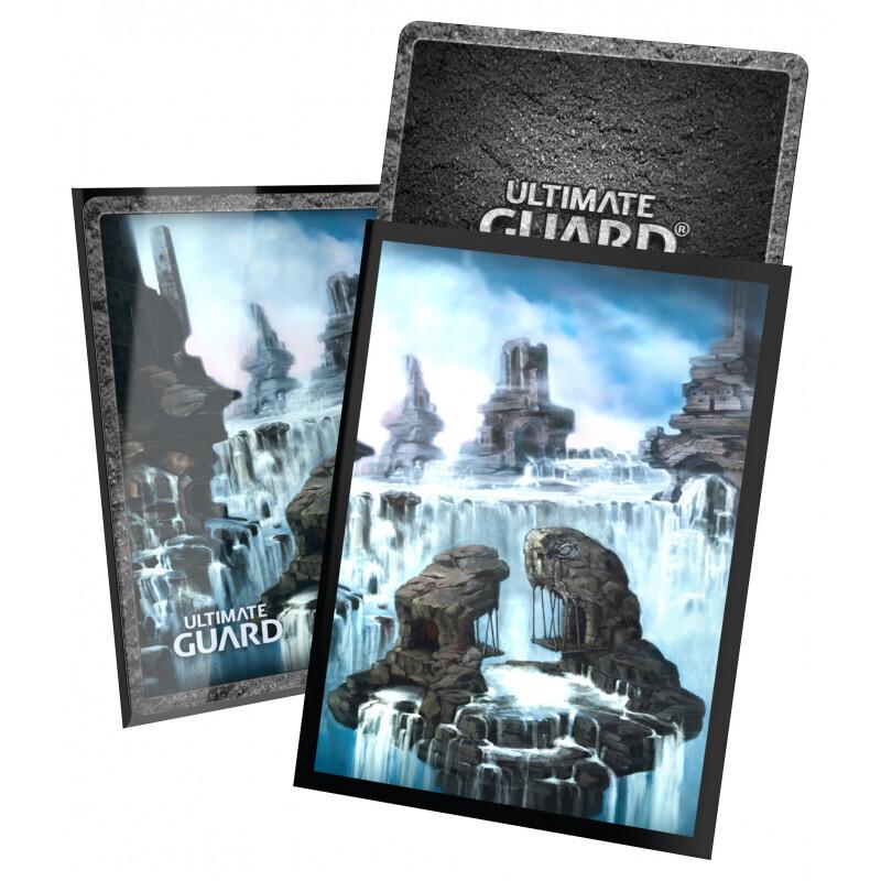 Ultimate Guard Printed 100 Sleeves Standard Size Land Ed. II - Island