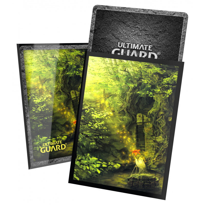 Ultimate Guard Printed 100 Sleeves Standard Size Land Ed. II - Forest