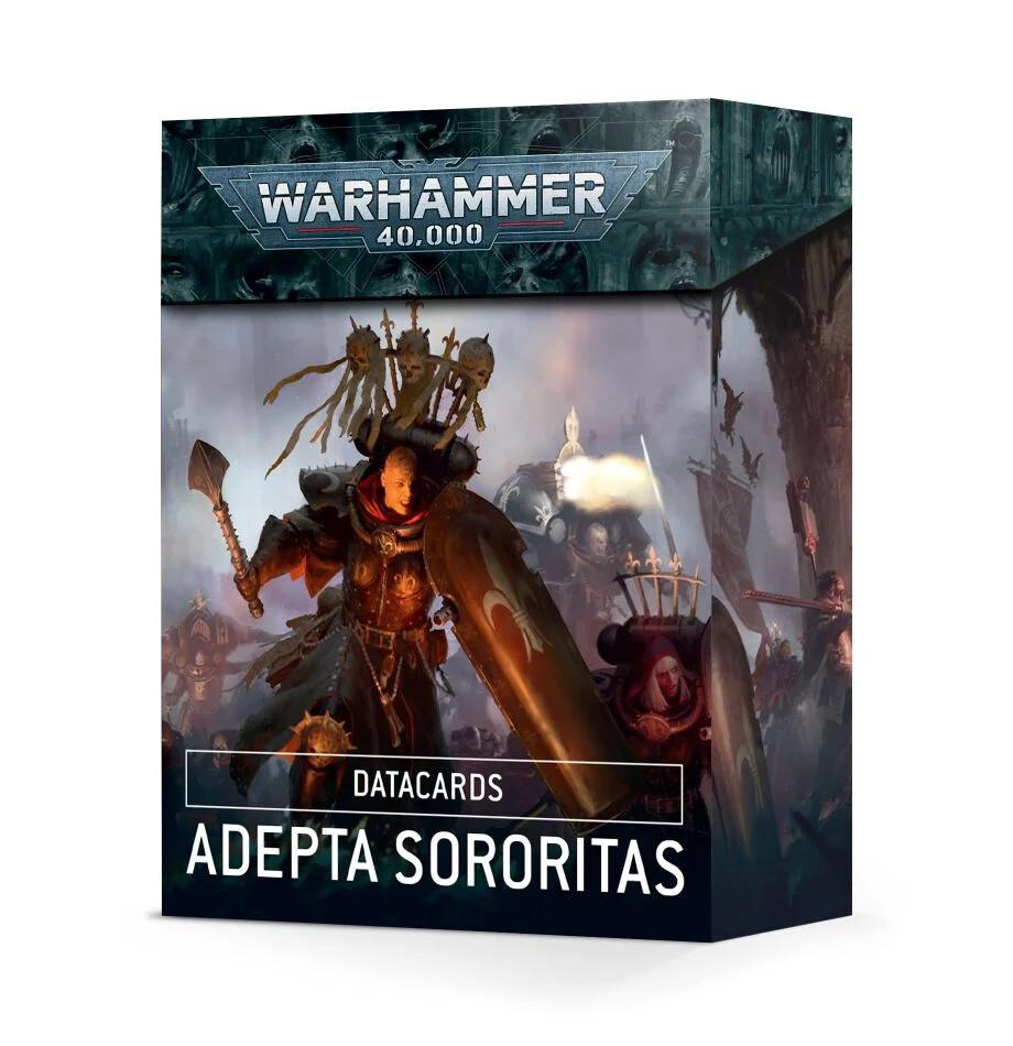 Warhammer 40000: Datacards Adepta Sororitas