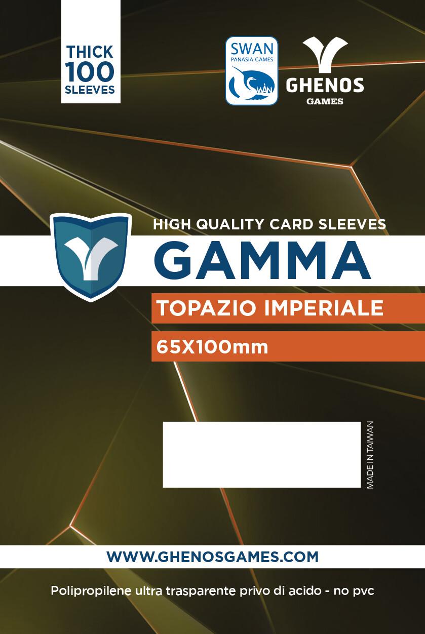 Gamma - 100 Buste Topazio Imperiale 65x100