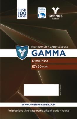 Gamma - 100 Buste Diaspro 57x90