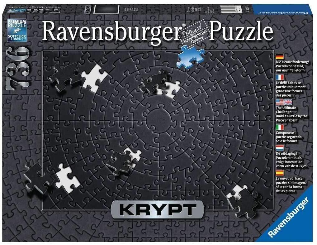 Puzzle Krypt - Black