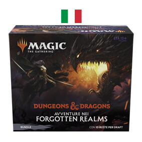 Avventure nei Forgotten Realms Bundle  ITA (ex Fat Pack) - Magic: the Gathering