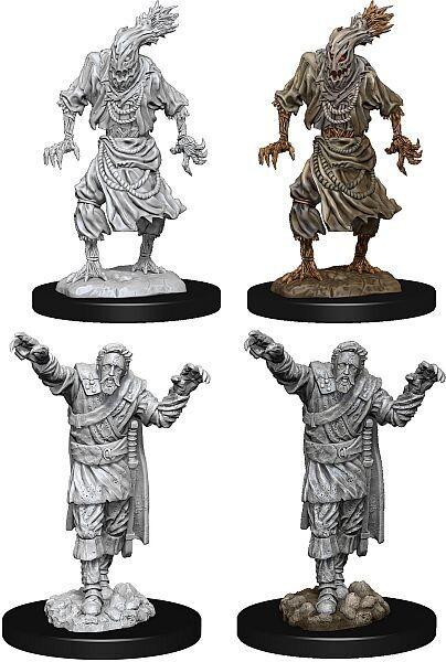 D&D Nolzur's Marvelous Miniatures: Scarecrow & Stone Cursed (2 Units)