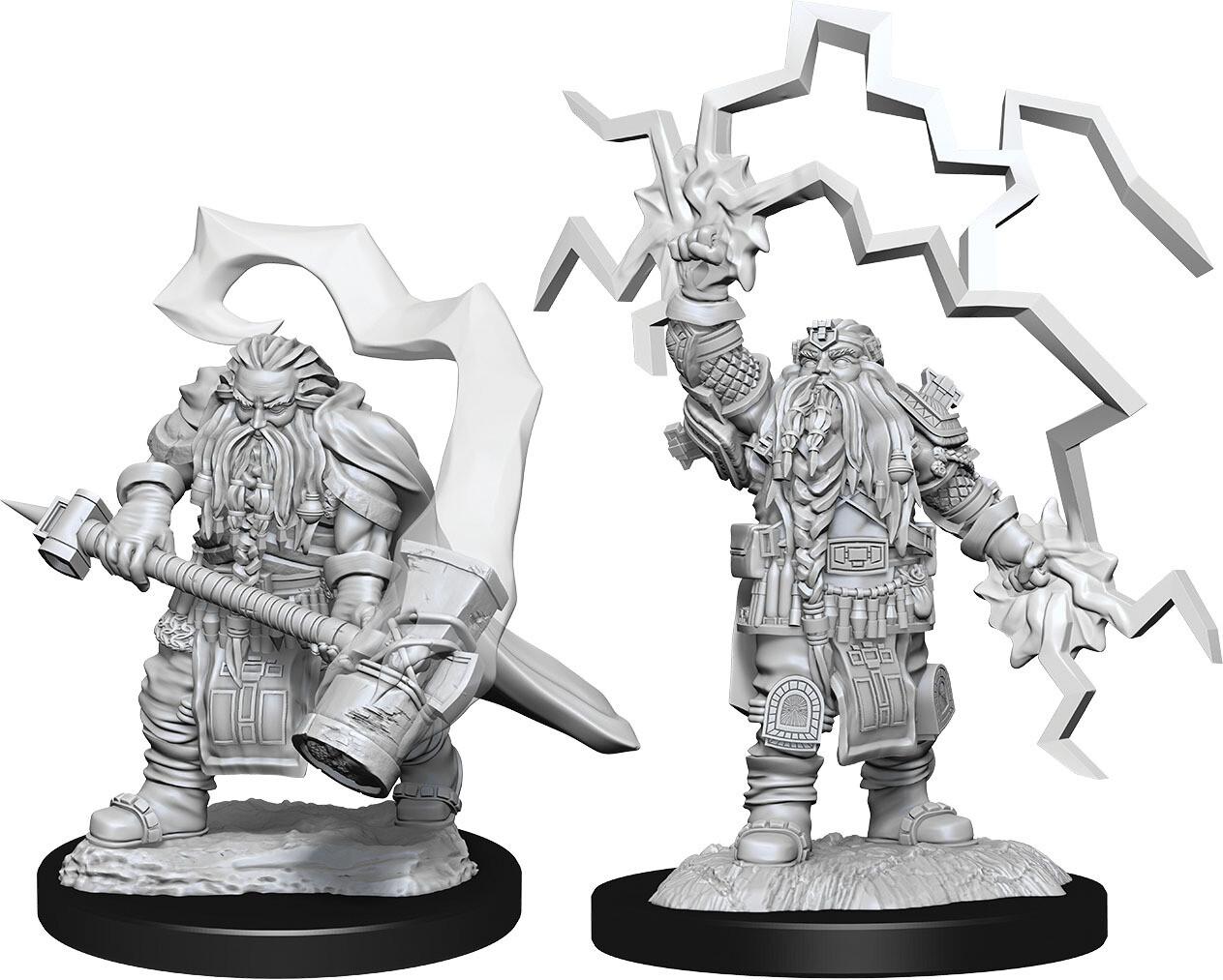 D&D Nolzur's Marvelous Miniatures - Dwarf Male Cleric versione B