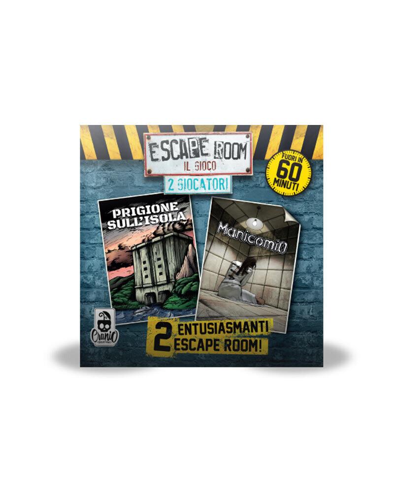Escape Room 2 Giocatori - Prigione sull'Isola / Manicomio