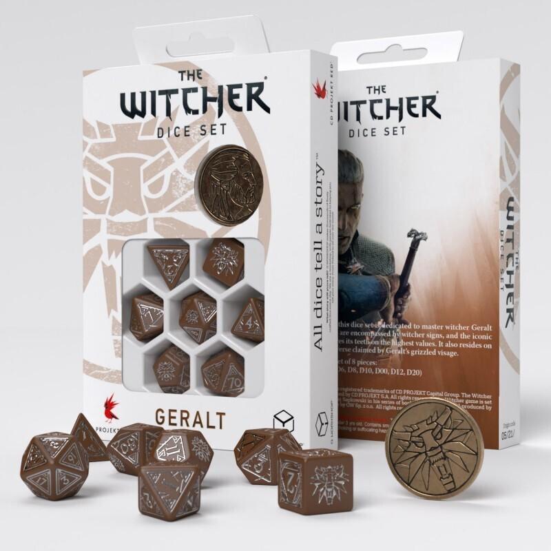 The Witcher Dice Set. Geralt - Roach's Companion