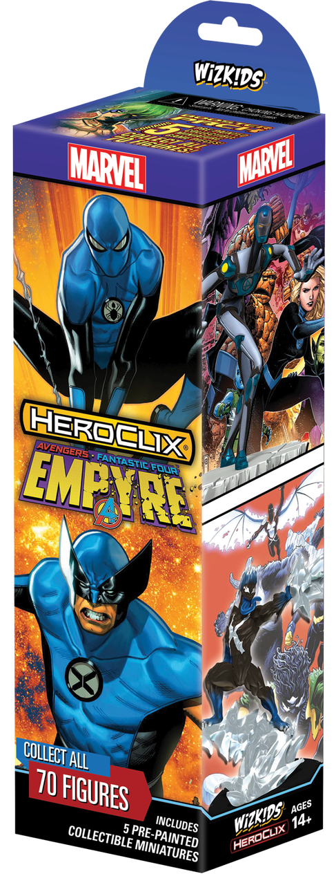Avengers Fantastic Four Empyre Booster - Heroclix
