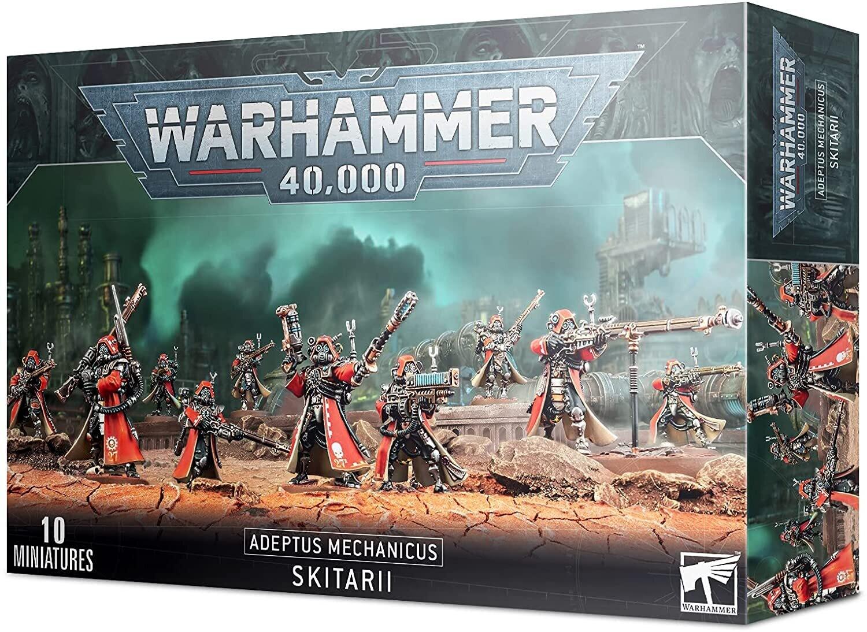 Warhammer 40000: Adeptus Mechanicus Skitarii Vanguards