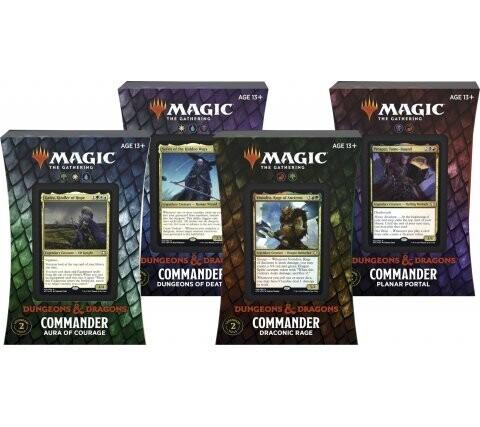 Avventure nei Forgotten Realms Mazzo Commander ENG - Magic: the Gathering