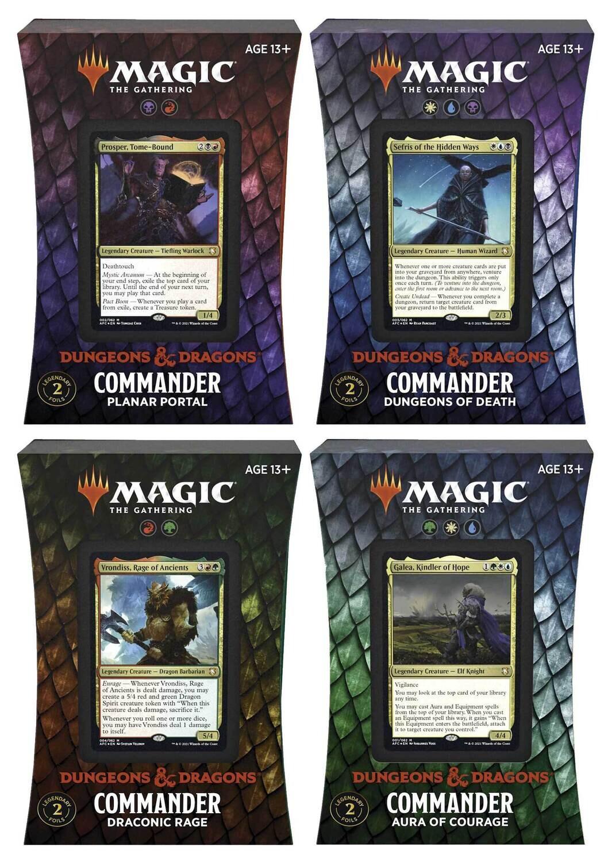 Avventure nei Forgotten Realms Mazzo Commander ITA - Magic: the Gathering