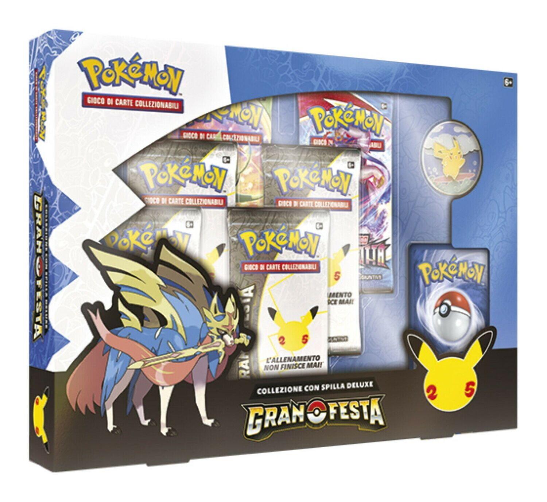 Pokemon Collezione con spilla Deluxe Gran Festa