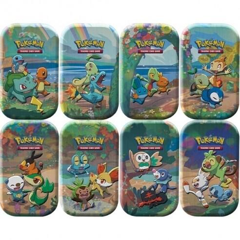 Pokemon Collezione Gran Festa - Mini Tin da Collezione assortito