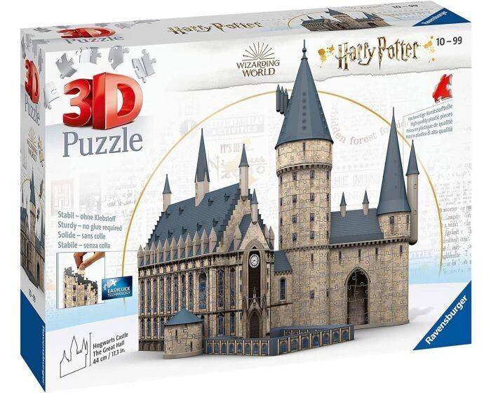 3D Puzzle Harry Potter  Hogwarts Castle 630 pezzi