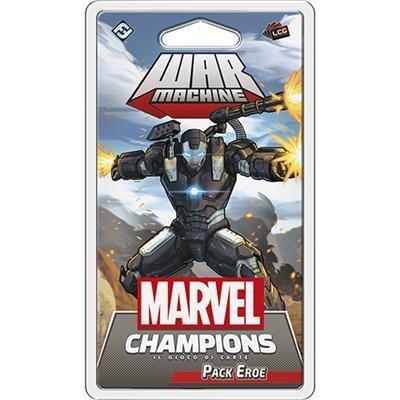 Marvel Champions - Warmachine (Pack Eroe)