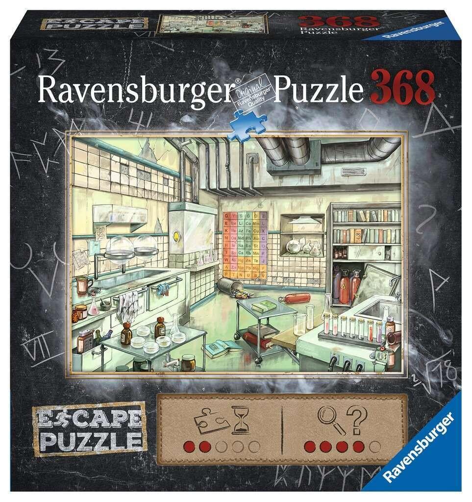 Puzzle Escape Chemistry Lab 368p