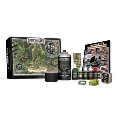 Army Painter Gamemaster: Wilderness & Woodlands Terrain Kit