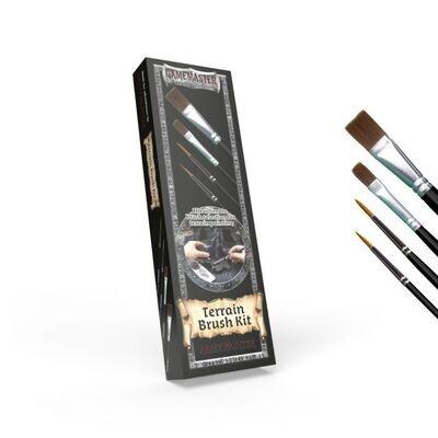 Army Painter Gamemaster: Terrain Brush Kit