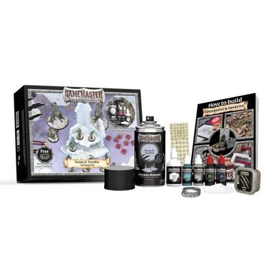 Army Painter Gamemaster: Snow & Tundra Terrain Kit