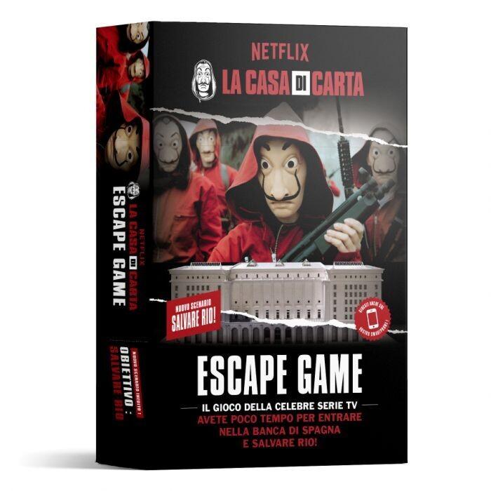 La Casa di Carta- Salvate Rio - Escape Game