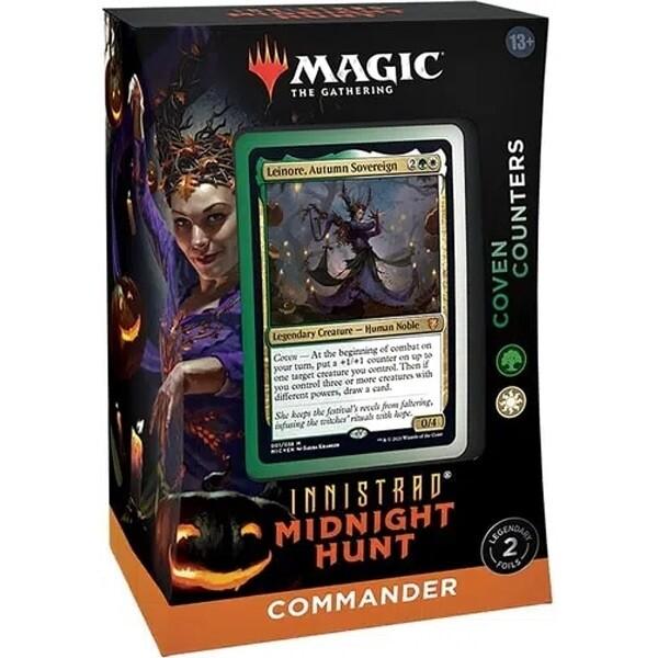 Innistrad Caccia di Mezzanotte Mazzo Commander Coven Counters ENG - Magic: the Gathering