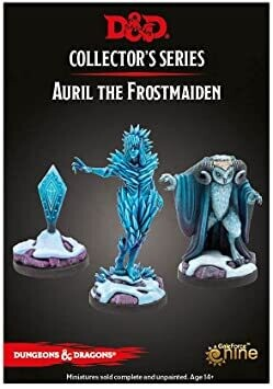 D&D Miniatures Icewind Dale: Rime of the Frostmaiden - Auril (3 figures)