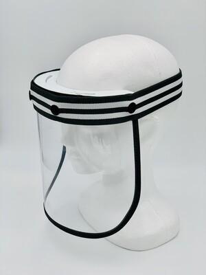 Premium Face Shield - Black & White