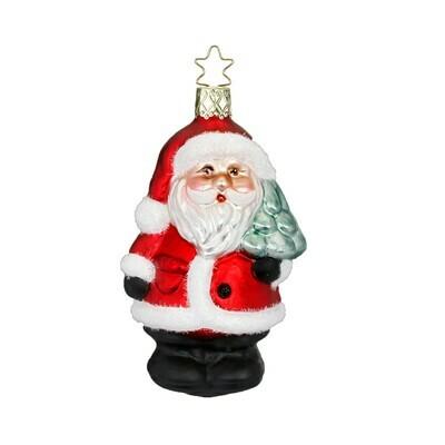 Santa w/ tree