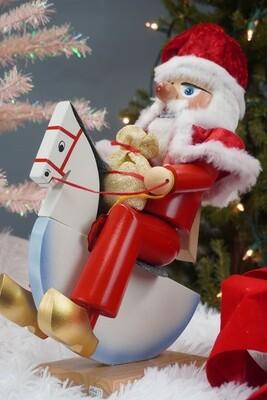Rocking Horse Santa