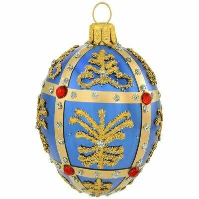 BR-2771 Blue Faberge Egg