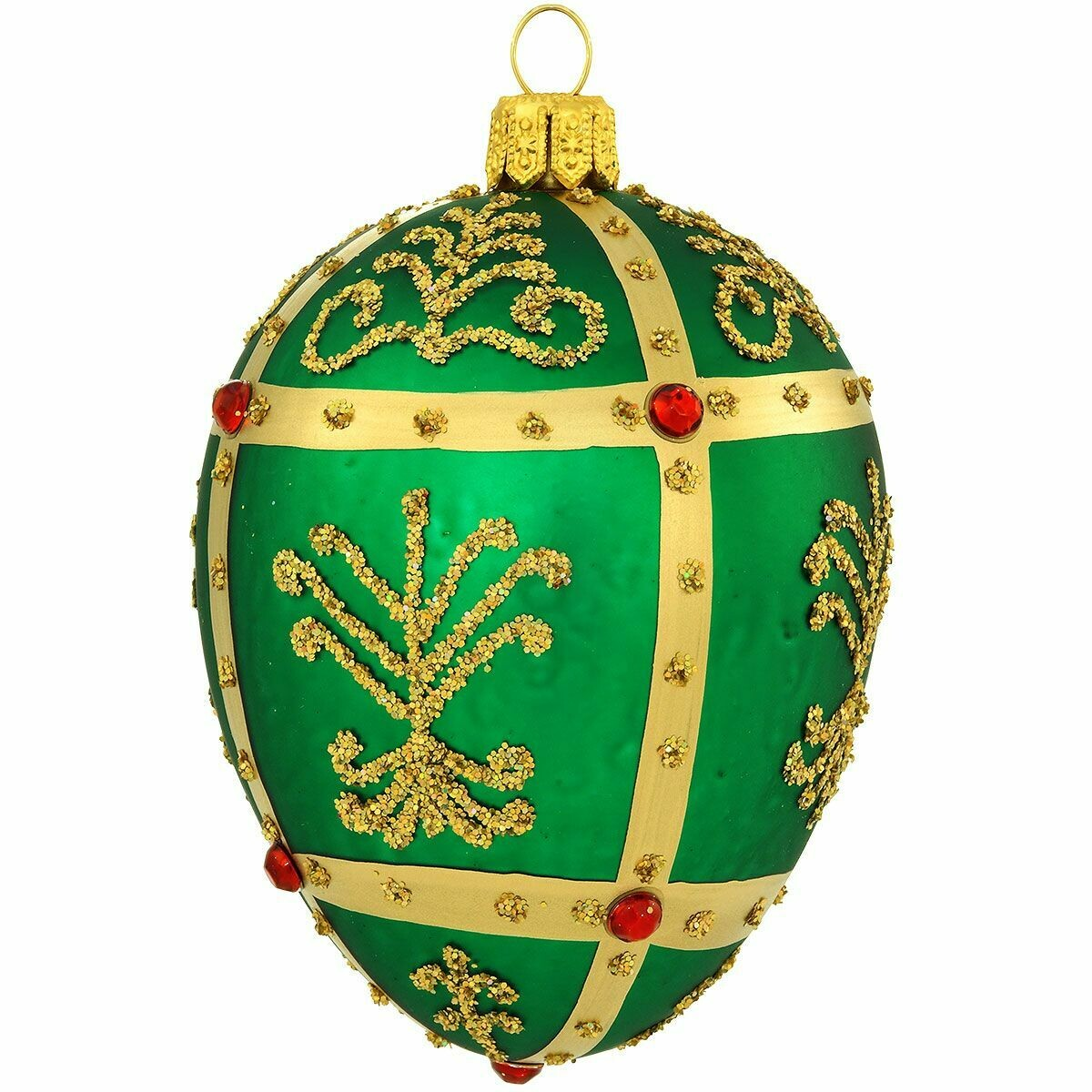 BR-2773 Green Faberge Egg