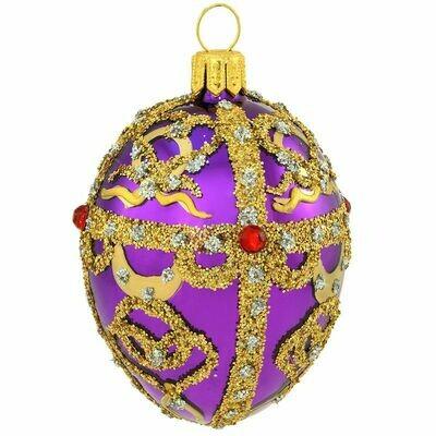 BR-2770 Purple Faberge Egg