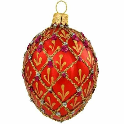 BR-2772 Red Faberge Egg