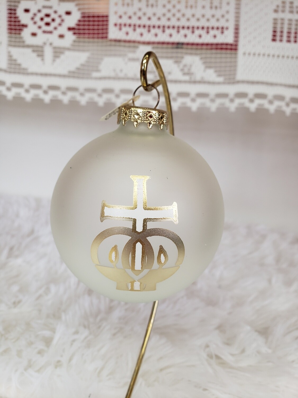 G 2023 Marriage Symbol Ball w/Cross