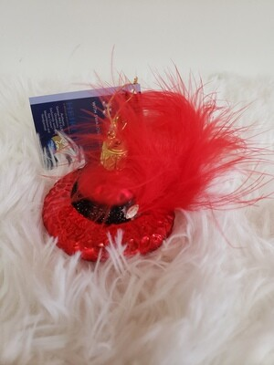 G 2328 Red Hats w/Feather