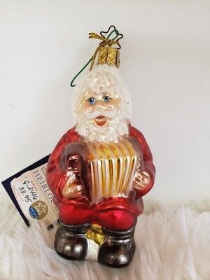 G 2406 Santa playing 'Squeezebox'
