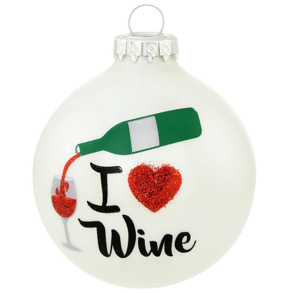 BR 7225 I LOVE WINE WHITE