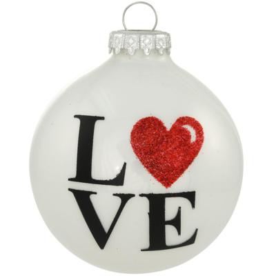 BR 3510 LOVE O HEART RED GLTR