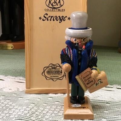 NC 185 'Scrooge' Mini Nutcracker
