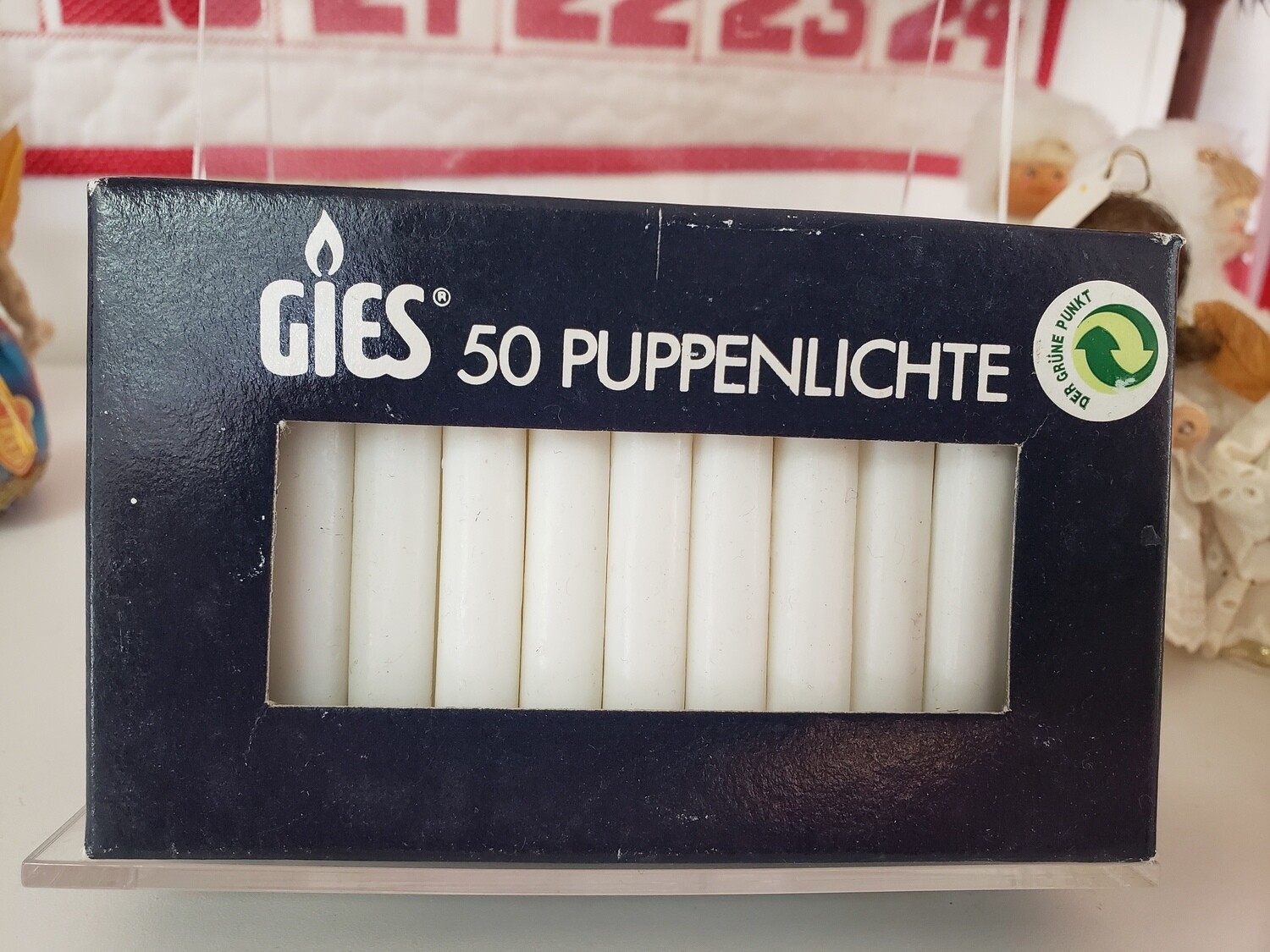 Geis white candles 50 pack