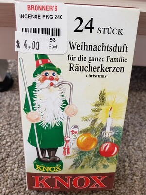 K-7493-C - Knox Incense - Christmas