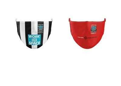 TOW LAW TOWN FACEMASKS HOME OR AWAY