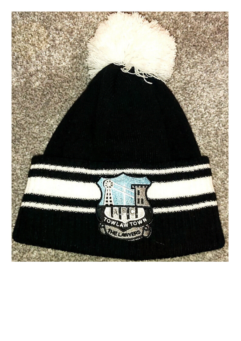 Tow Law Town AFC Pompom Hat