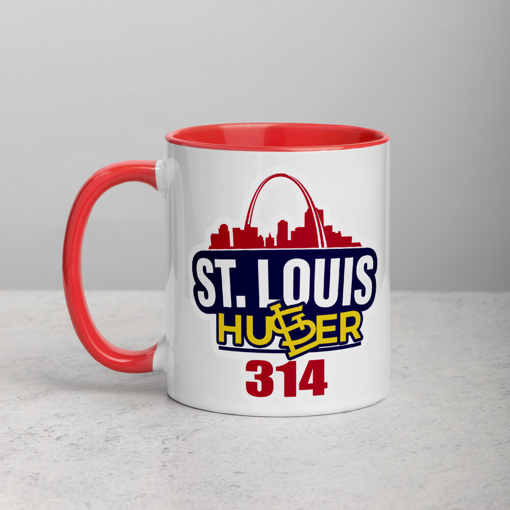 St. Louis Hustler Collectable Mug with Color Inside