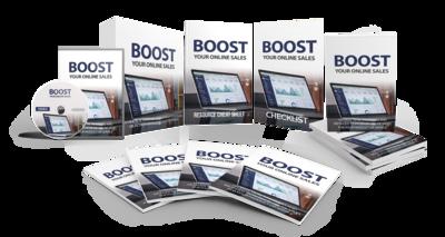 Boost Your Online Sales eBook & Video Course Bundle