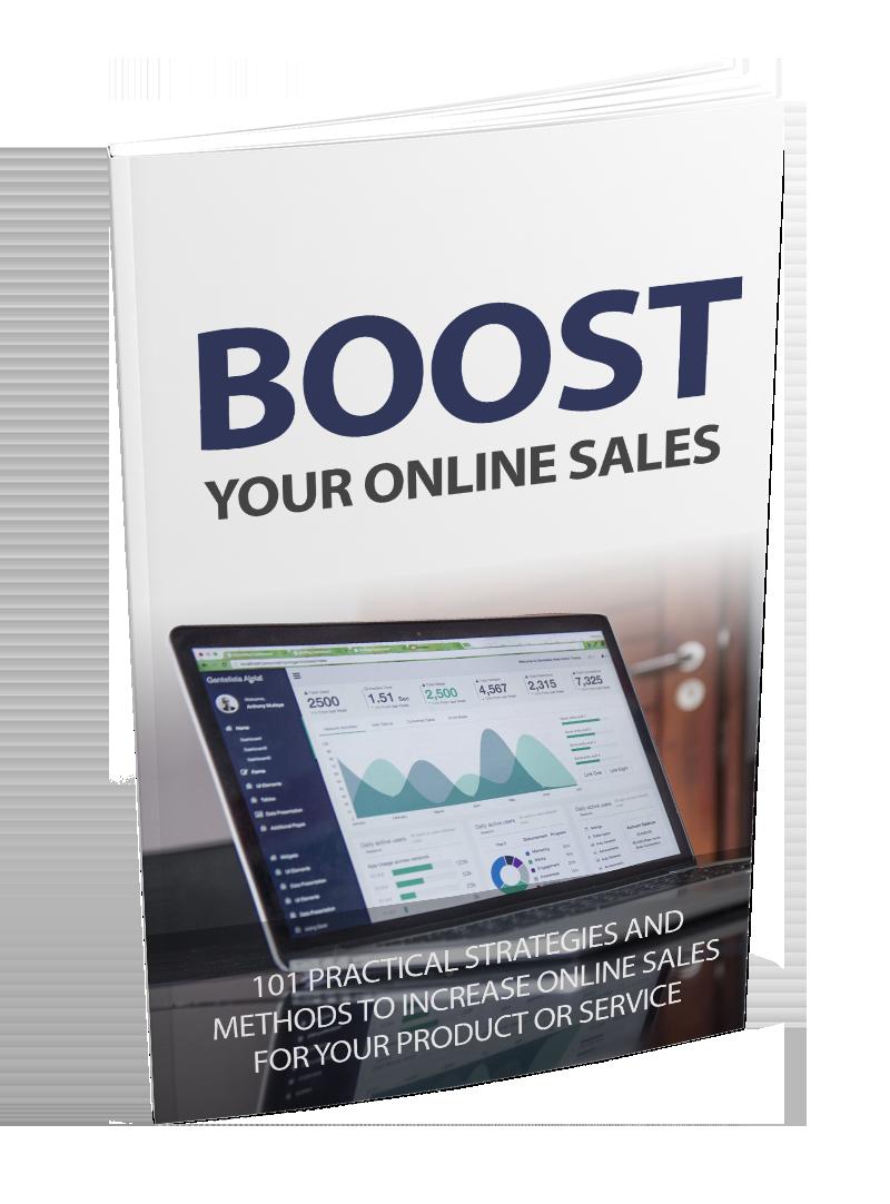 Boost Your Online Sales eBook