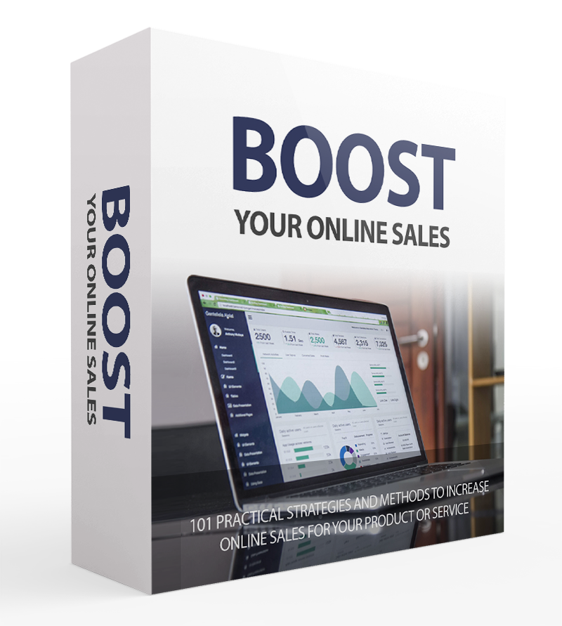 Boost Your Online Sales Video Course